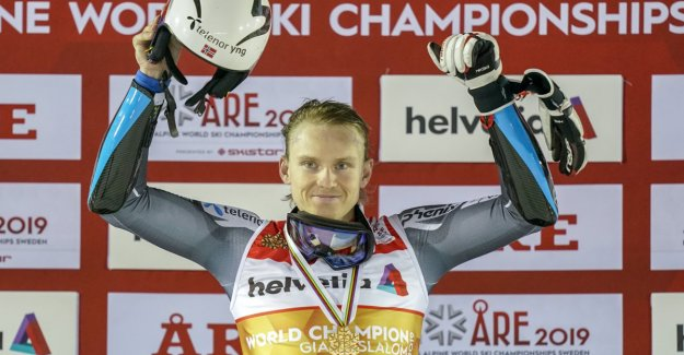 Kristoffersen about your own driving after the world cup-gold: - It is too bad