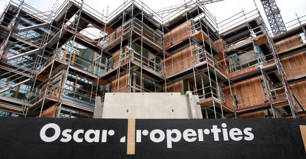 Kursras for the crisis-ridden bostadsutvecklaren Oscar Properties
