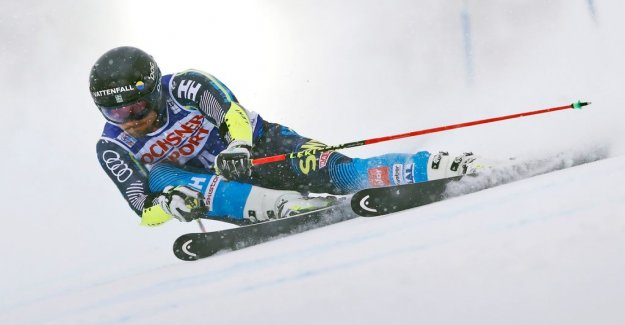 Live: Follow the men's giant slalom from the alpine world CHAMPIONSHIPS in Åre