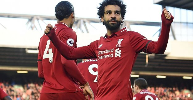 Liverpool is back again for (equally) to the lead in the Premier League after a resounding victory