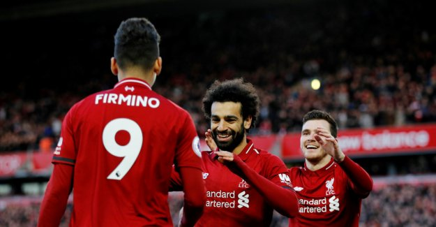 Liverpool on the tabelltopp after victory against Bournemouth