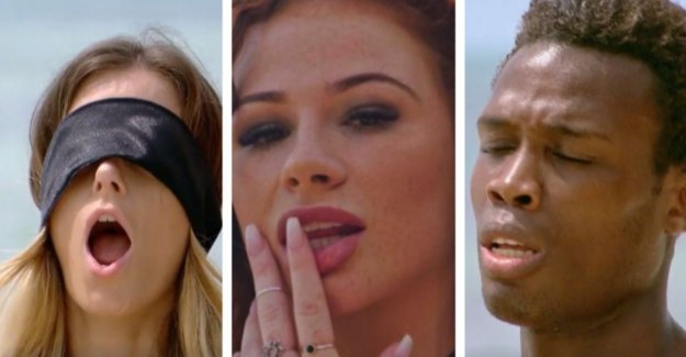 Lookalike verleidsters, old acquaintances and sneaky games: episode 1 of 'Temptation Island' in a nutshell