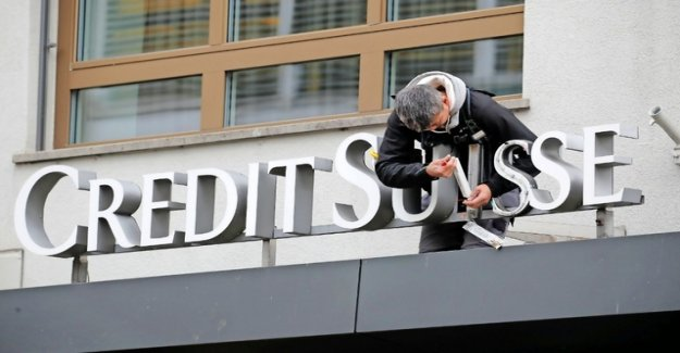 Lower profit of Credit Suisse's due to US tax?
