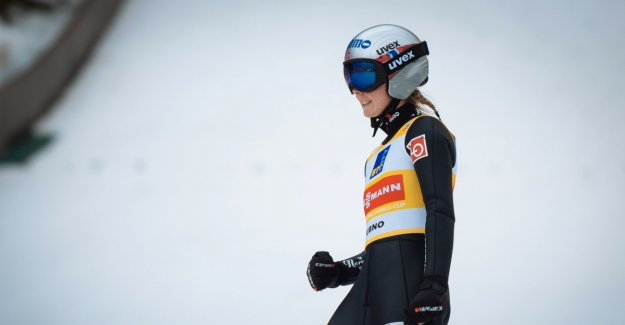 Lundby in superform before the world cup