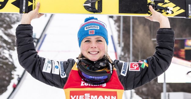 Lundby rages: Six consecutive verdenscupseirer