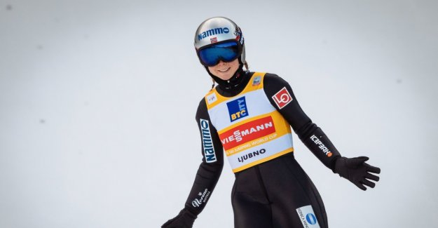 Lundby with bakkekord and new victory