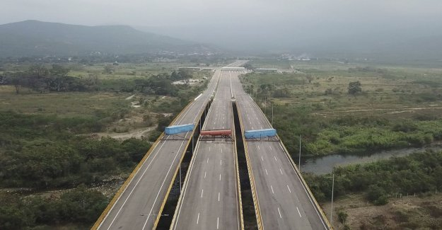 Maduro is blocking the border – stop the help from coming into the country