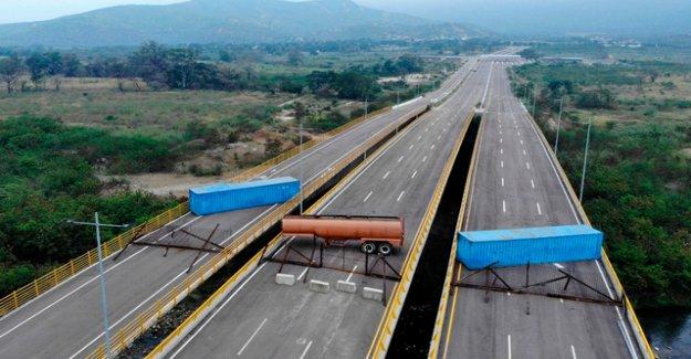 Maduro rejects humanitarian aid as a political Show