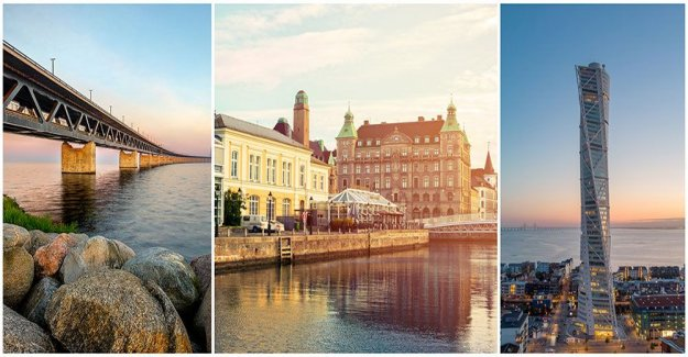 Malmö on the list of unknown cities