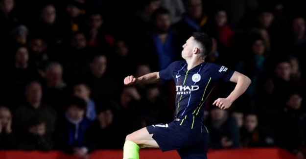 Manchester City-new adolescent hailed after soloscoring: - He is the club's future