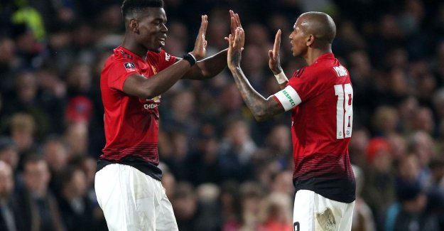 Manchester United have revenge for the lost final bite and knikkert Hazard and Chelsea out of FA Cup