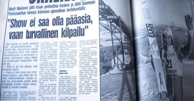 Matti Nykänen returned unexpectedly to Finland in the middle of the world cup - a friend told me how the press was distracted salajuonella airport