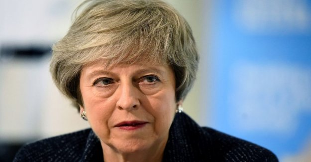 May looking for brexitavtal in Brussels