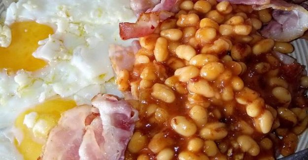 Meal with eggs and bacon going completely crazy on the internet