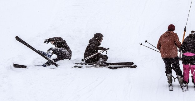Mediocre skiers wanted in the job posting
