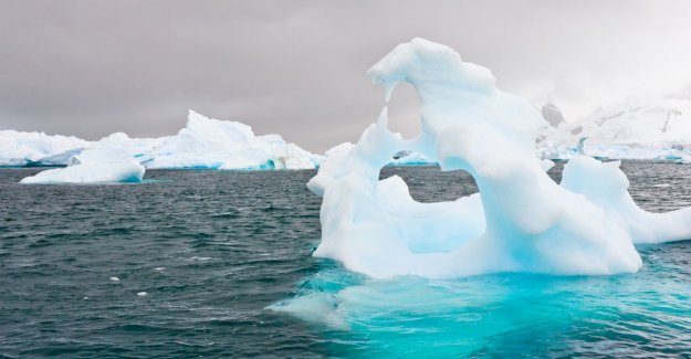 Melting ice sheets on Greenland and Antarctica can worldwide climate chaos cause