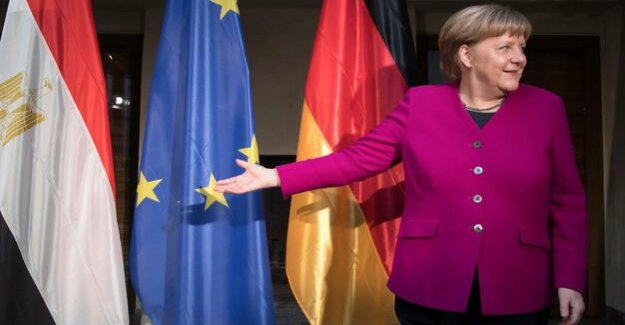 Merkel at the Munich security conference : As the head of government of the free world celebrated