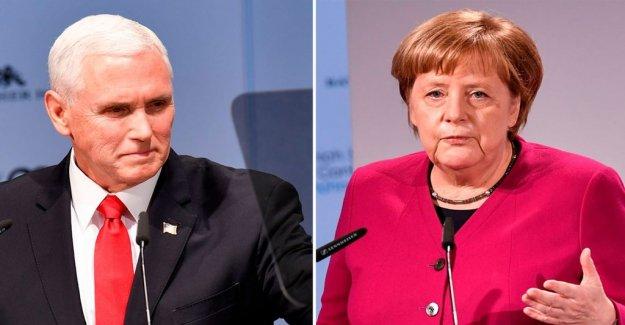 Michael Winiarski: Säkerhetsmötet reveals a deeper divide between the united states and Europe