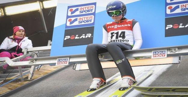 Mico Ahonen spare jumper Seefeld world championships - women's team announced