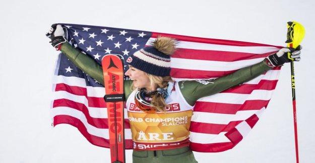Mikaela Shiffrin weaves MM-gold - Nella Korpio the best Finnish 31:p