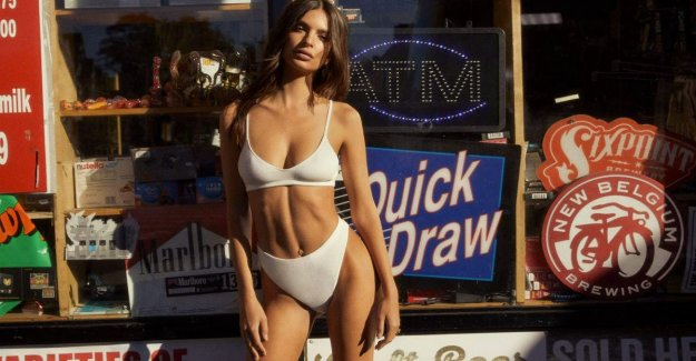 Model Emily Ratajkowski launches its lingeriecollectie