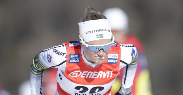 New Johaug went all in the debut