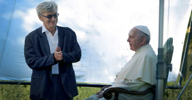Newly Wim Wenders learned prylrensa of pope Francis