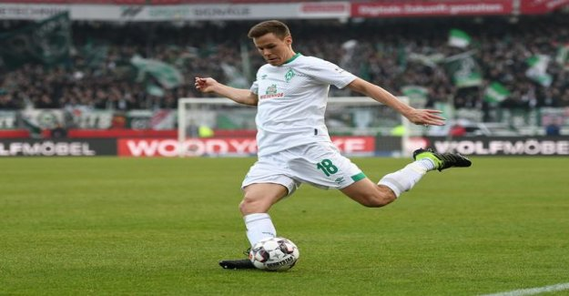 Niklas moisander was represented by Werder Bremen stretched big surprise in germany's current number one team in the humble penalty kick competition