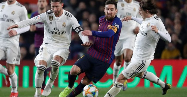 No winner in the Clásico: Barça and Real love each other in first leg semi-final Copa del Rey in balance