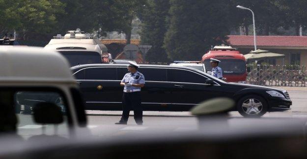 Nordkoreadelegation on the way to Hanoi