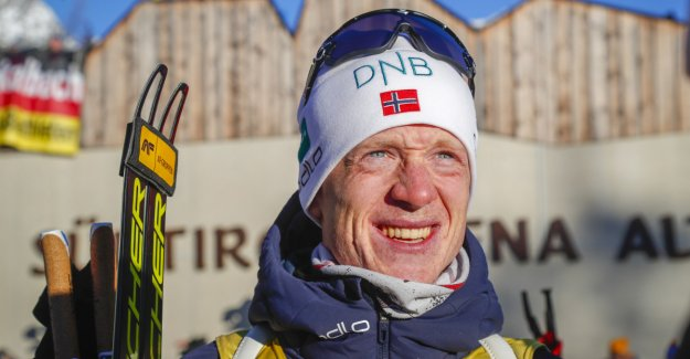 Norway number three in the mixedstafett: - I am very relieved