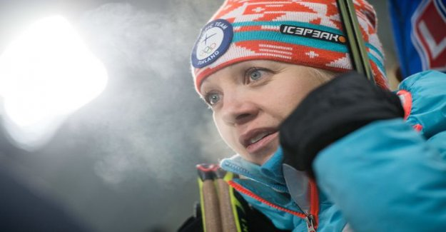 Now is cold! Kaisa Mäkäräinen racing partners released chilling images of Canada - a world cup in danger of being canceled