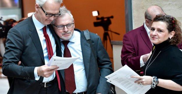 Nyberg's lawyer: He is jättelättad of course