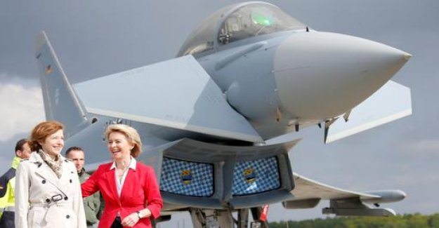 Of the Leyen in France: European politics by fighter jet