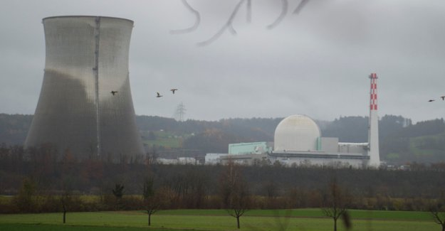 Once again, human error in the NUCLEAR power plant Leibstadt