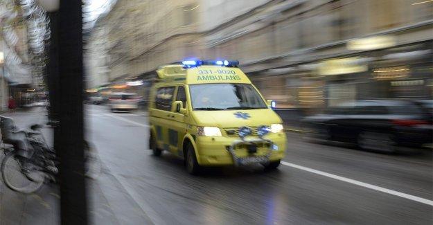 One to hospital after drunkningslarm