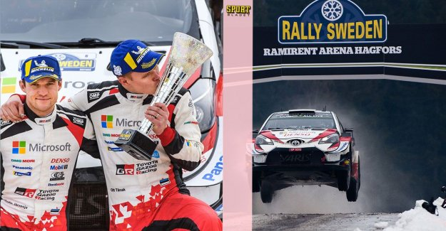 Ott Tänak dominated Rally Sweden in 2019