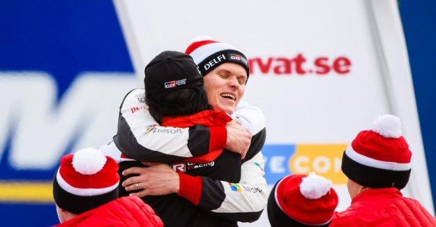 Ott Tänak unchallenged winner in the Swedish rally