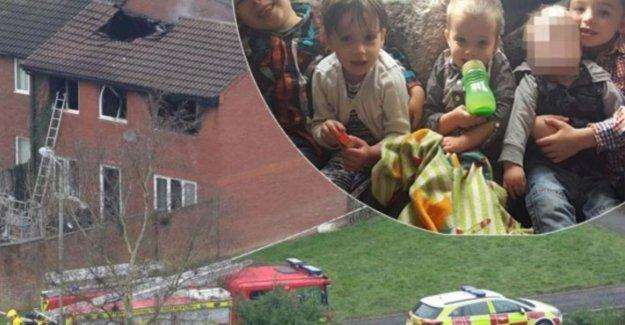 Parents that four children lost in woningbrand held on suspicion of murder