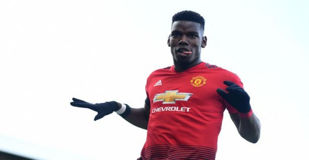 Paul Pogba continue to be hot in the tune - the deputy male of ManU having a landslide victory
