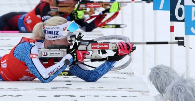 Perspective: Kaisa Mäkäräinen playing with fire – the same situation was Martin Fourcade calculating coolly: I'd Shoot myself in the foot