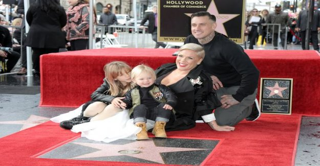 Pink received a star on the Hollywood Walk of Fame