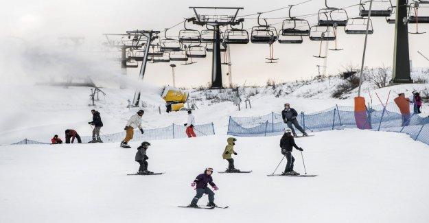 Plenty of snow on the slopes before the winter break