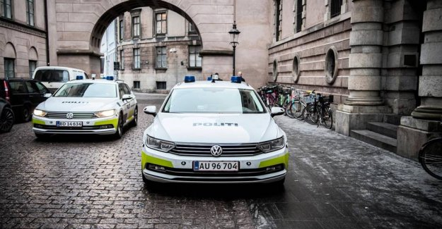 Police cars hit by brake failure