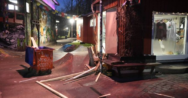 Police links two explosions at the Christiania together