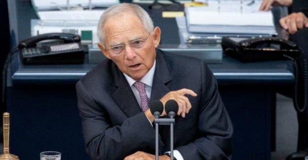 President of the Bundestag : Schäuble calls for EU Reform