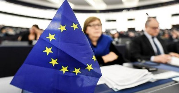 Prior to the European elections, rights to place according to the survey,