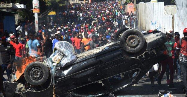 Protests in Haiti continue despite speech president