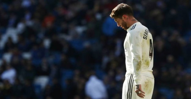 Ramos is thrown out and Real Madrid failure