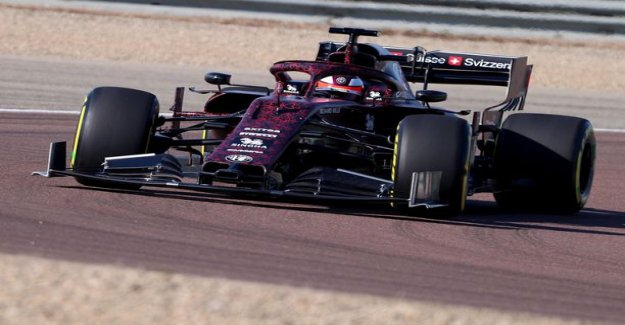 Rattling details, Kimi Raikkonen in the car got the experts baffled: the Strangest canards, which we have seen